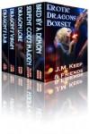 Erotic Dragons Boxset (Five Fantasy Stories by Five Bestselling Authors) - J.M. Keep, Jessi Bond, Carl East, Lexi Lane, Alice Xavier