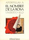 Apostillas a El nombre de la rosa - Umberto Eco, Ricardo Pochtar