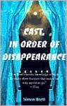 Cast, in Order of Disappearance - Simon Brett