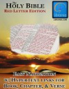Holy Bible - Red Letter Edition (with Illustrated History of the King James Version) - Librainia