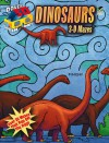 3-D Mazes--Dinosaurs - Patricia Wynne