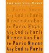 Never Any End to Paris (Paperback) - Common - Translated by Anne McLean By (author) Enrique Vila-Matas