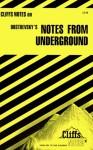 CliffsNotes on Dostoevsky's Notes from Underground - James Lamar Roberts, Fyodor Dostoyevsky, CliffsNotes