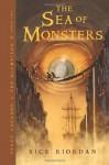 The Sea of Monsters - Rick Riordan, Jesse Berns
