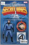 Secret Wars Journal #1 (of 5) Action Figure Variant Comic Book - Prudence Shen, Michael Rosenberg, Ramon Bachs, Luca Pizzari, John Tyler Christopher