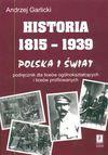 Historia 1815-1939 Polska i świat - Andrzej Garlicki