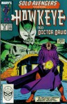 Solo Avengers #10 : Featuring Hawkeye and Doctor Druid (Marvel Comics) - Tom DeFalco, D.G. Chichester, Margaret Clark, Mark Bright, Lee Weeks