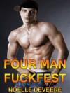 Four Man Fuckfest - Noelle DeVeere