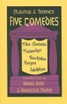 Five Comedies - Plautus, Plautus, Terence, Douglass Parker