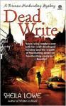 Dead Write - Sheila Lowe