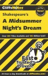 Cliffsnotes on Shakespeare's a Midsummer Night's Dream - Karin Jacobson