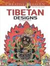 Creative Haven Tibetan Designs Coloring Book - Marty Noble