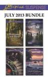 Love Inspired Suspense July 2013 Bundle: Defender for HireRoyal HeistLifelineRiptide - Shirlee McCoy, Rachelle McCalla, Christy Barritt