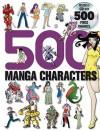 500 Manga Characters [With 500 Free Images CD] - Sweatdrop Studios, Yishan Li