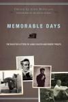 Memorable Days - James Salter, Robert Phelps, John McIntyre