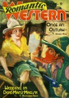 Romantic Western - Once an Outlaw - January 1938 - Charles Daw, E. Hoffmann Price