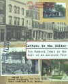 Letters to the Editor: Two Hundred Years in the Life of an American Town - Gerard Stropnicky, James Goode, Tom Byrn, Jerry Matheny