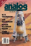 Analog Science Fiction and Fact, March 1990 - Stanley Schmidt, Roger McBride Allen, John Barnes, Matthew J. Costello, John G. Cramer, Tom Easton, Joe Haldeman, Paula May, Deborah D. Ross, W.R. Thompson, Robert Zubrin
