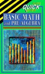 Cliffsquickreview Basic Math and Pre-Algebra - CliffsNotes