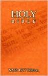 Holy Bible (NASB - New American Standard Bible) - Anonymous