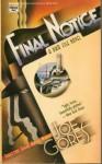 Final Notice - Joe Gores