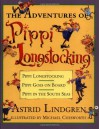 The Adventures of Pippi Longstocking - Astrid Lindgren, Michael Chesworth, Florence Lamborn, Gerry Bothmer