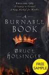A Burnable Book: Free Sampler - Bruce Holsinger