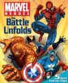 Marvel Heroes: The Battle Unfolds (Fold-Out Flap Book) - Tom DeFalco, Ron Adrian, Roberto Campus