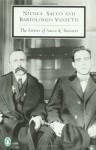 The Letters of Sacco and Vanzetti - Nicola Sacco, Richard D. Polenberg, Bartolomeo Vanzetti, Gardner Jackson, Marion D. Frankfurter, Polenberg