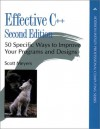 Effective C++: 50 Specific Ways to Improve Your Programs and Design (Addison-Wesley Professional Computing) - Scott Meyers