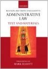 Beatson, Matthews & Elliot's Administrative Law: Text and Materials - Mark Elliot, Jack Beatson, Martin Matthews