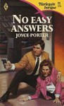 No Easy Answers (Harlequin Intrigue 66) - Joyce Porter