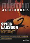 Dziewczyna, która igrała z ogniem. Książka audio CD MP3 - Stieg Larsson