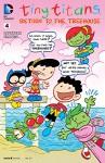 Tiny Titans: Return to the Treehouse (2014-) #4 (Tiny Titans: Return to the Treehouse (2014- )) - Art Baltazar, Franco, Art Baltazar
