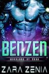 Benzen: A Sci-Fi Alien Romance (Warriors of Orba Book 1) - Zara Zenia, Kasmit Covers