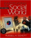 Investigating the Social World with SPSS 10.0 CD-ROM [With CDROM] - Russell K. Schutt