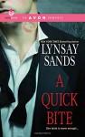A Quick Bite (Avon Romance) - Lynsay Sands