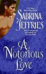 A Notorious Love - Sabrina Jeffries