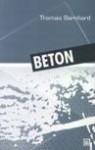 Beton - Thomas Bernhard