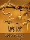 Taste Test: Public Displays - Alex Marcus-Jacobs, Lorna Hinson, G.S. Wiley, Jaya Christopher