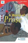 A World Of Prose For Cxc - David Williams, Hazel Simmons-McDonald