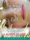 Before I Fall - Lauren Oliver, Sarah Drew