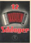 12 Akkordeon Schlager 1 - diverse