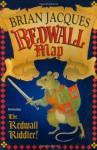 Redwall Map & Riddler - Brian Jacques, Allan Curless, Chris Baker