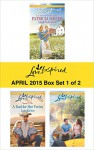 Love Inspired April 2015 - Box Set 1 of 2: Amish RedemptionA Dad for Her TwinsSmall-Town Bachelor - Patricia Davids, Lois Richer, Jill Kemerer