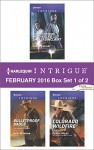 Harlequin Intrigue February 2016 - Box Set 1 of 2: Scene of the Crime: Who Killed Shelly Sinclair?Bulletproof BadgeColorado Wildfire - Carla Cassidy, Angi Morgan, Cassie Miles