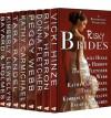Risky Brides (A Bestsellers' Collection of Novels and Novellas) - Vicki Hinze, Rita Herron, Donna Fletcher, Peggy Webb, Kathy Carmichael, Tara Randel, Kimberly Llewellyn, Bayard & Holmes