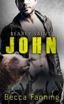 John (BBW Country Music Bear Shifter Romance) (Bearly Saints Book 4) - Becca Fanning