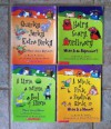 """""""Words Are Categorical"""" Set of 4 Books (A Mink, a Fink, a Skating Rink: What is a Noun? ~ A Lime, a Mime, a Pool of Slime: More About Nouns ~ Hairy, Scary, Ordinary: What Is an Adjective? ~ Quirky, Jerky, Extra Perky: More About Adjectives) - Brian P. Cleary, Jenya Prosmitsky, Brian Gable"""