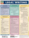 Legal Writing Laminate Reference Chart - Inc. BarCharts